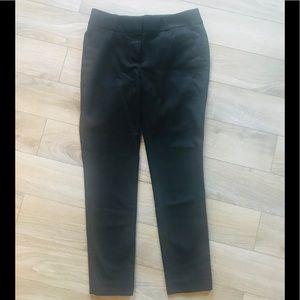 Ann Taylor Loft black Ankle Capri pants